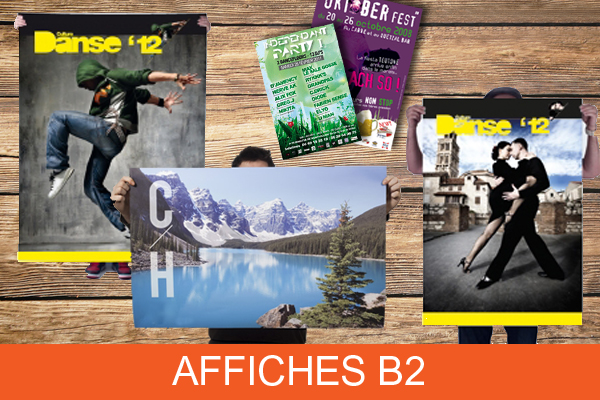 Affiches format B2