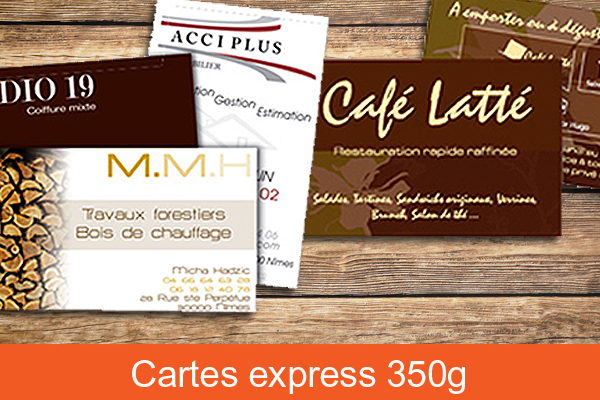 Carte commerciale express