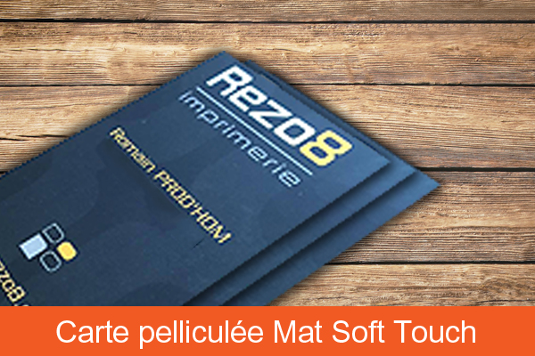 Pelliculage mat soft touch