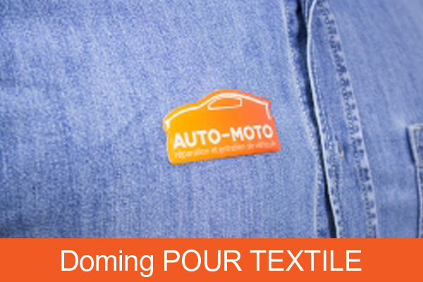 Doming pour textile