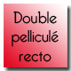 Double pelliculé recto