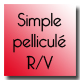 Simple pellicule recto/verso