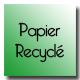Carte commerciale papier recyclé