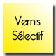 carte de visite simple vernis selectif