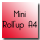 Mini roll'up A4